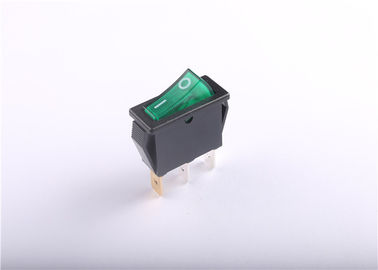 Cina Mini 250v Push Button Rocker Switch Masuk akal Dan Breaking Angle pabrik